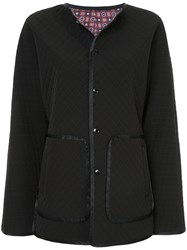 Astraet Crosshatch Jacket Nylon Polyester Polyurethane Black