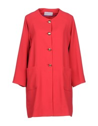 Annie P. Overcoats Coral