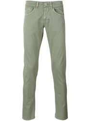 Dondup Skinny Trousers Green