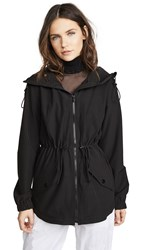 Cushnie Et Ochs Ophilie Hooded Jacket Black