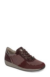 Ara Women's Lilly Sneaker Brunello Leather