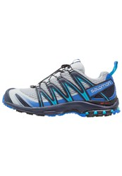 Salomon Xa Pro 3D Trail Running Shoes Quarry Nautical Blue Hawaiian Ocean Grey