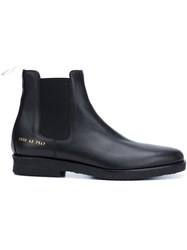 Common Projects Ankle Boots Black