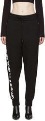 Off White Black C O Virgil Abloh Lounge Pants