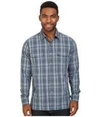 Kuhl Response L S Shadow Blue Men's Long Sleeve Button Up