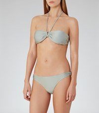 Reiss Bermuda B Womens Mid Rise Bikini Briefs In Green