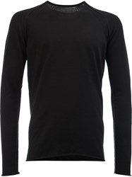 Label Under Construction Slim Fit Sweater Black