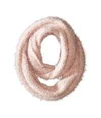 Calvin Klein Boucle Infinity Scarf Blush Scarves Pink
