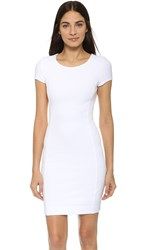 Three Dots Crystal Dress White