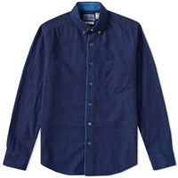 Blue Blue Japan Flannel Shirt Blue