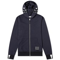 Coach Rexy Embroidered Zip Hoody Blue