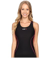 Louis Garneau Women Comp Tank Black Pink Purple Women's Sleeveless