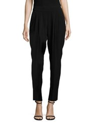 Boss Tolia Crepe Tapered Pants Black