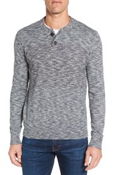 Grayers Men's 'Marlborough' Cotton And Wool Henley Sweater