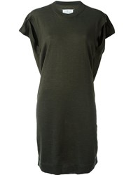 Maison Martin Margiela Knitted Short Dress Green