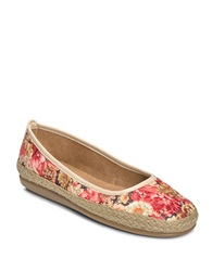 Aerosoles Soloist Canvas Loafers Pink