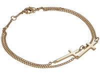 Dsquared Jesus Chain Bracelet Gold