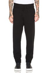 Helmut Lang Core Cashmere Zip Pocket Jogger In Black