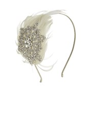 Kaliko Jewel And Feather Fascinator