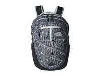 The North Face Women's Borealis High Rise Grey Feather Leaf Print Tnf Black Backpack Bags Gray