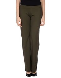 Fisico Cristina Ferrari Casual Pants Dark Green