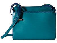 Lodis Audrey Trisha Double Zip Wallet On A String Ivy Marine Wallet Handbags Blue