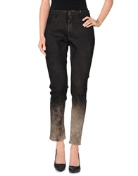 Superfine Denim Pants Dark Brown
