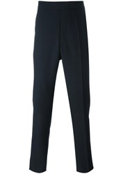 Thom Browne Tailored Cropped Trousers Blue