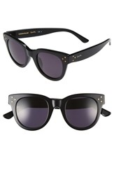 Spektre Women's 'She Loves You' 47Mm Sunglasses Black Smoke Black Smoke