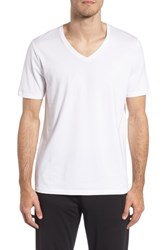 Tommy John Second Skin V Neck T Shirt White