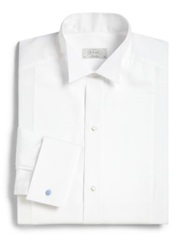 Eton Of Sweden Contemporary Fit Tonal Stripe Dress Shirt White