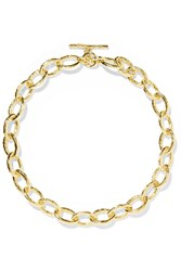 Ippolita Classico Bastille 18 Karat Gold Necklace One Size