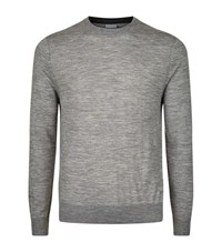 Paul Smith Crew Neck Merino Jumper Male Grey