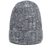 Our Legacy Knitted Hat Spotted Grey