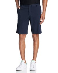 Boss Rice Stretch Cotton Shorts Dark Blue