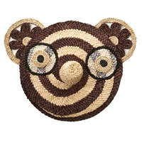 Anne Claire Chocolate Bear Straw Face