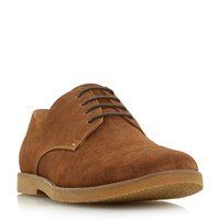 Linea Batter Lace Up Gibson Shoes Tan
