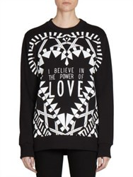 Givenchy Power Of Love Printed Sweatshirt Black Multi
