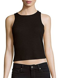 Rag And Bone Solid Sleeveless Top Black