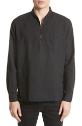 Our Legacy Men's Woven Half Zip Pullover