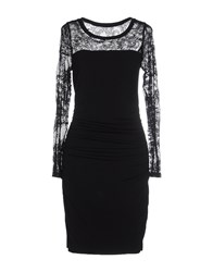 Velvet Dresses Short Dresses Women Black