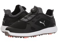 Puma Golf Ignite Power Adapt Disc Black Black Golf Shoes