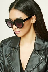 Forever 21 Cat Eye Sunglasses Black