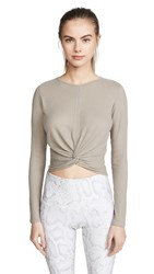 Onzie Twirl Top Taupe