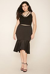 Forever 21 Plus Size Drop Waist Skirt