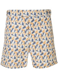 Frescobol Carioca Fragment Tailored Swim Shorts 60