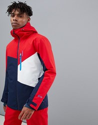 Protest Yoyo Snow Jacket In Red