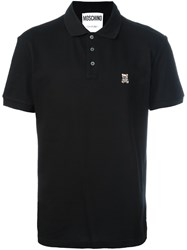 Moschino Toy Bear Polo Shirt Black