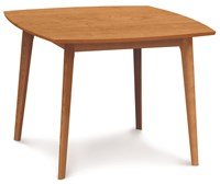 Copeland Furniture Catalina 40 Inch Square Dining Table 03 Natural Cherry Brown