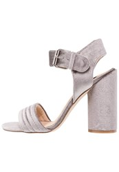 Miss Selfridge Cai High Heeled Sandals Grey